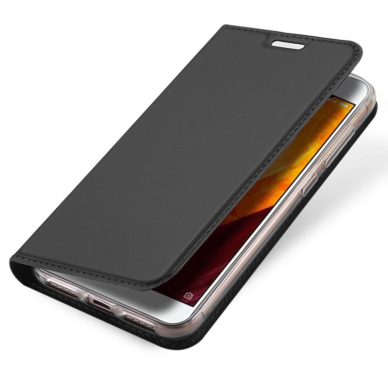 DUX flipové pouzdro Xiaomi Redmi 4X šedé