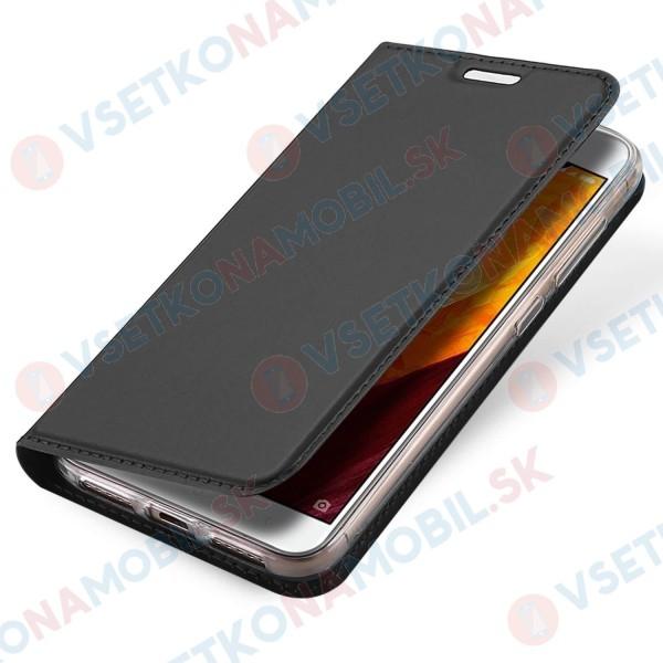 DUX flipové pouzdro Xiaomi Redmi Note 4 (Global) šedé
