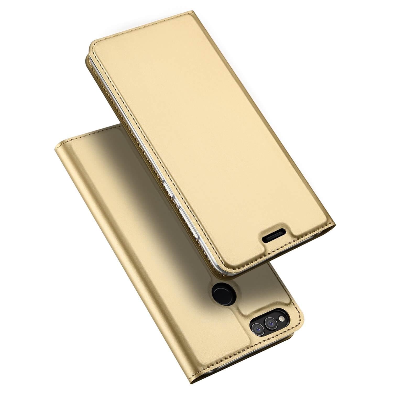 DUX Peňaženkový obal Honor 7X zlatý