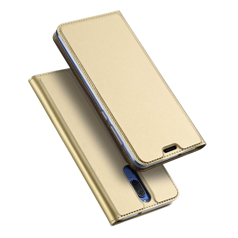 DUX Peňaženkový obal Huawei Mate 10 Lite zlatý