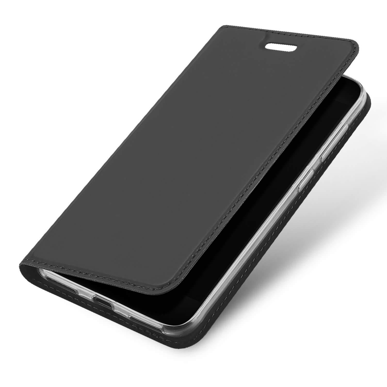 DUX Peňaženkový obal Huawei P9 Lite Mini šedý