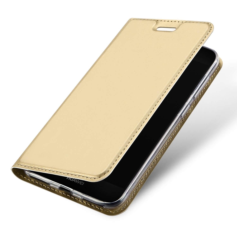 DUX Peňaženkový obal Huawei P9 Lite Mini zlatý