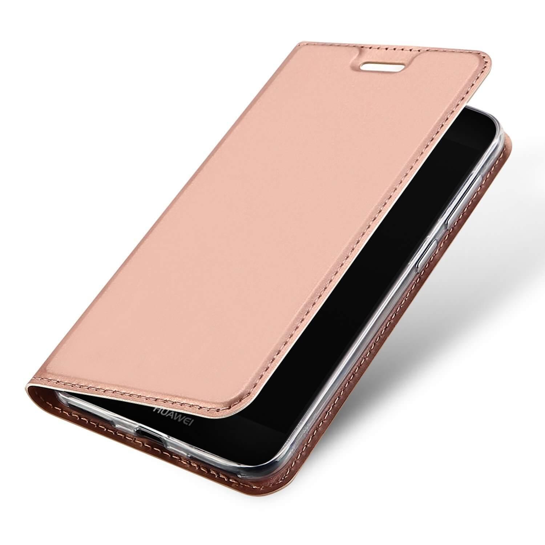 DUX Peňaženkový obal Huawei P9 Lite Mini ružový