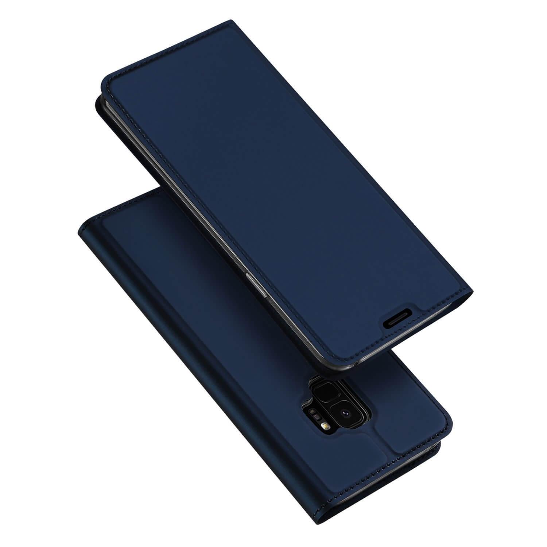 DUX Peňaženkový obal Samsung Galaxy S9 modrý