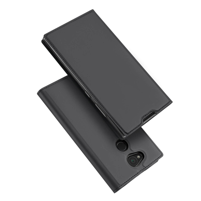 DUX Peňaženkový obal Sony Xperia L2 šedý