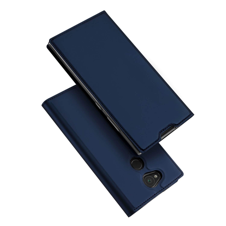 DUX Peňaženkový obal Sony Xperia L2 modrý