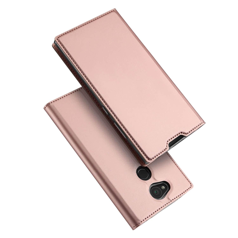 DUX Peňaženkový obal Sony Xperia L2 ružový