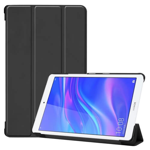 """FORCELL LEATHER zaklapovací obal Huawei MediaPad M5 Lite 8.0 """"černý"""