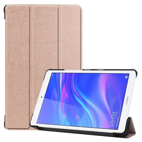 """FORCELL LEATHER zaklapovací obal Huawei MediaPad M5 Lite 8.0 """"růžový"""