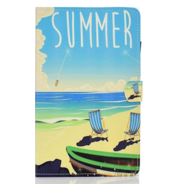 Levně FORCELL ART zaklapovací obal Samsung Galaxy Tab A 10.1 (T515 / T510) SUMMER