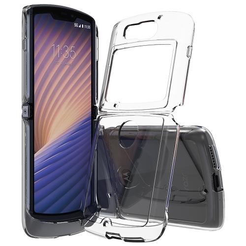 FORCELL SHOCK Extra odolný kryt Motorola Razr 5G priehľadný