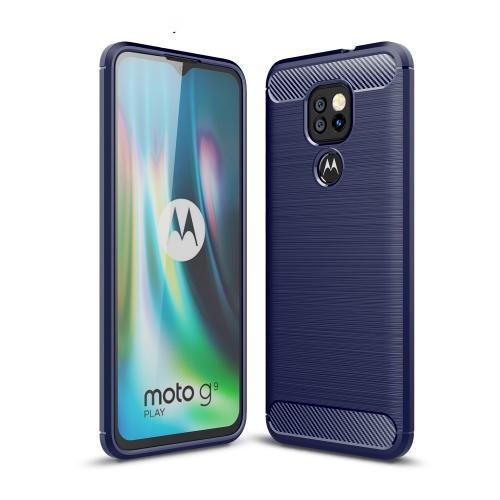 FORCELL FLEXI TPU Kryt Motorola Moto G9 Play / E7 Plus modrý