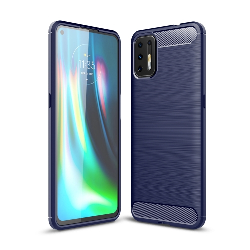 FORCELL FLEXI TPU Kryt Motorola Moto G9 Plus modrý