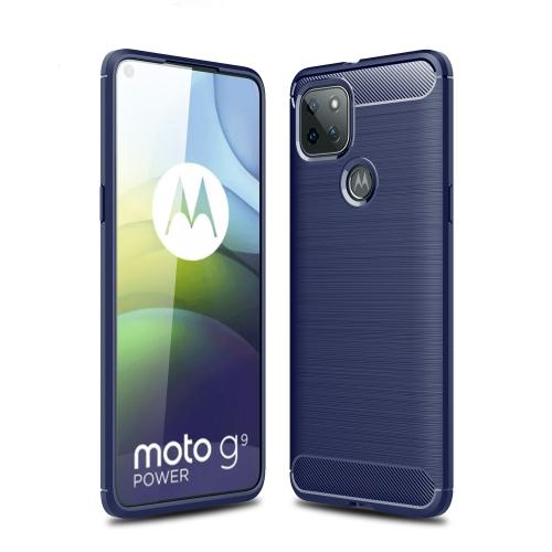 FORCELL FLEXI TPU Kryt Motorola Moto G9 Power modrý