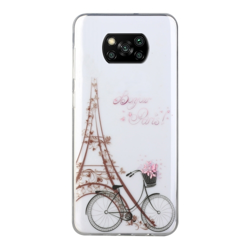 FORCELL ART Silikonový kryt Xiaomi Poco X3 NFC BICYCLE