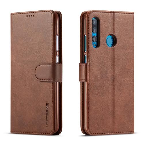 FORCELL IMEEKE Peňaženkový obal Huawei Nova 3i hnedý