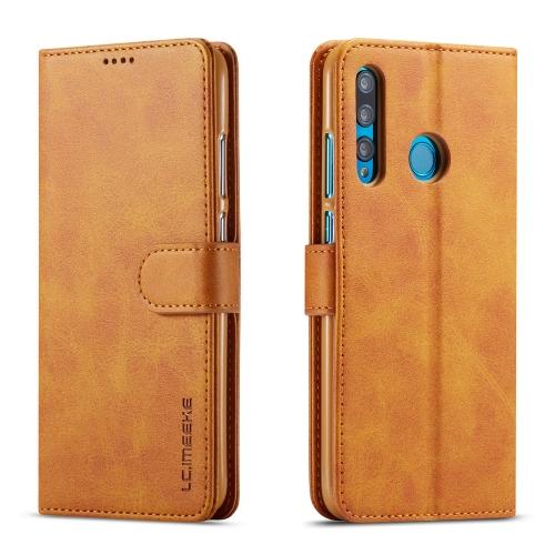 FORCELL IMEEKE Peňaženkový obal Huawei Nova 3i svetlohnedý