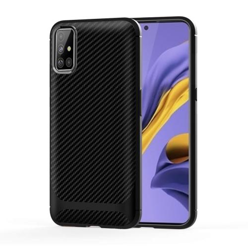 FORCELL FIBER Ochranný kryt Samsung Galaxy A51 černý