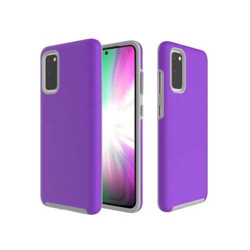 FORCELL HYBRID Ochranný obal Samsung Galaxy A51 fialový