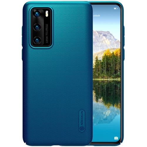 Levně NILLKIN FROSTED Huawei P40 modrý