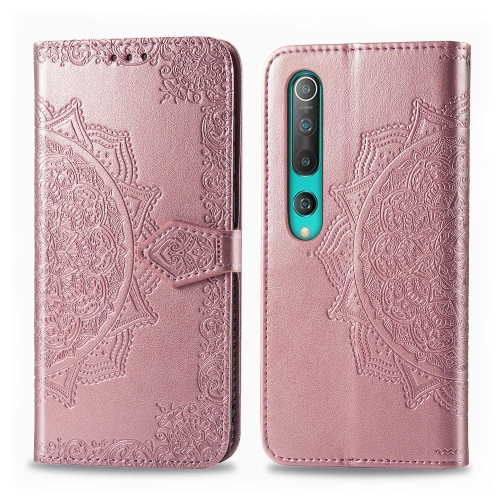 FORCELL ART Peňaženkový kryt Xiaomi Mi 10 Pro ORNAMENT růžový
