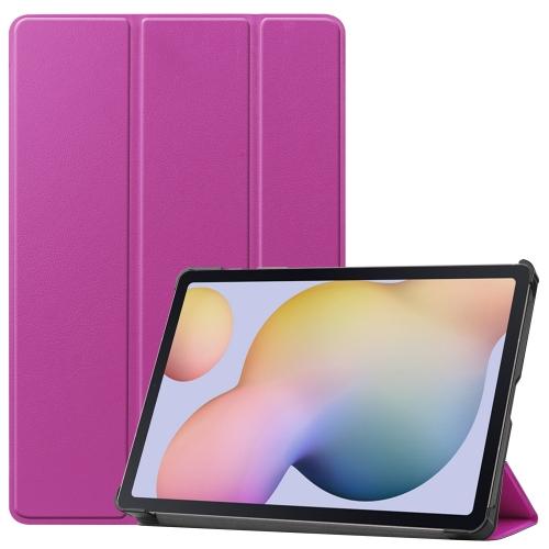 FORCELL LEATHER Zaklápací obal Samsung Galaxy Tab S7 fialový