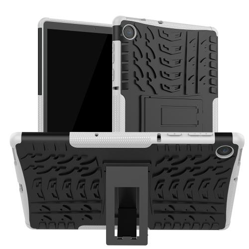 FORCELL STAND Extra odolný obal Lenovo Tab M10 Plus (TB-X606F / ZA5T0081CZ / ZA5V0206CZ) bílý