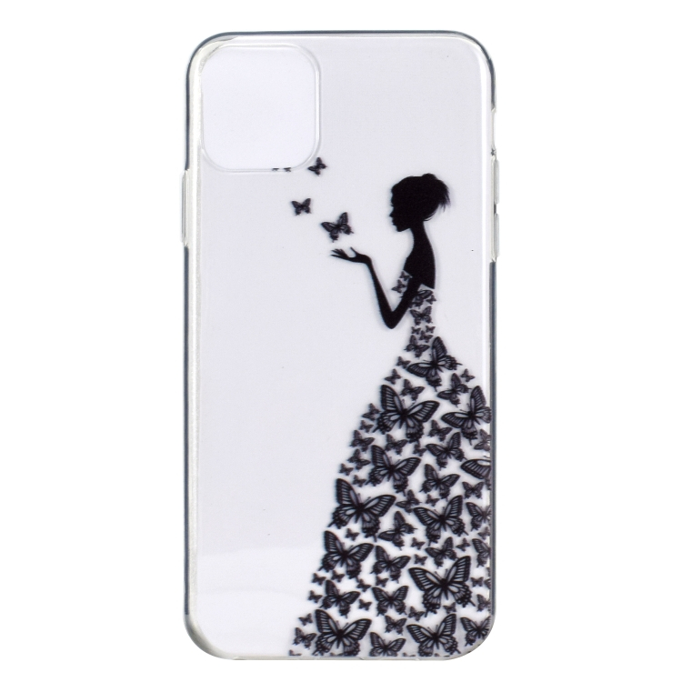 FORCELL ART Silikonový kryt iPhone 12 mini BUTTERFLY GIRL