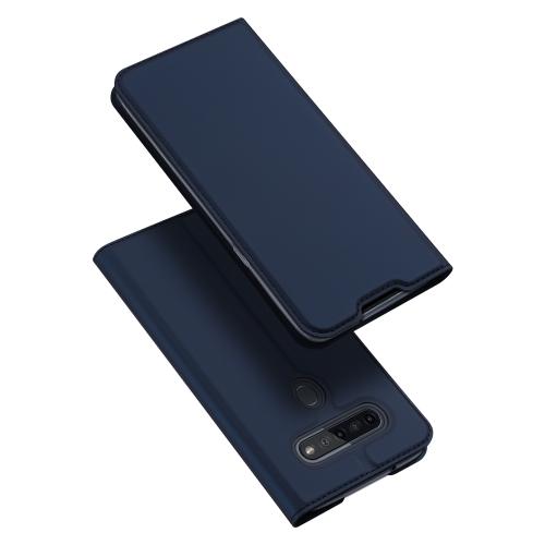 DUX Peňaženkový kryt LG K41s modrý