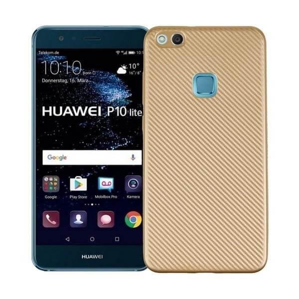 FORCELL FIBER Ochranný obal Huawei P10 Lite zlatý
