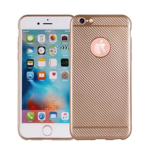 FORCELL FIBER Ochranný obal Apple iPhone 6 / 6S zlatý