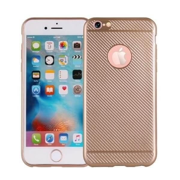 FIBER Ochranný obal Apple iPhone 7 Plus zlatý