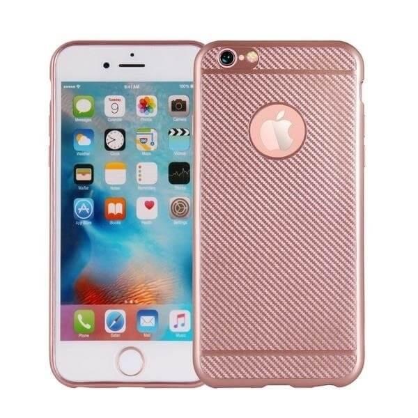 FIBER Ochranný obal Apple iPhone 8 Plus růžový