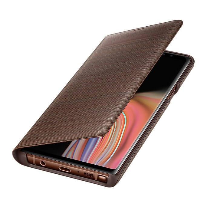 SAMSUNG LED VIEW (EF-NN960PAEGWW) Samsung Galaxy Note 9 hnedý