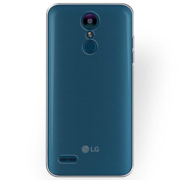 FORCELL Silikonový obal LG K9 průhledný