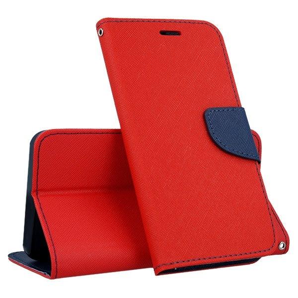 FORCELL FANCY Peňaženkový obal Huawei Y6 2018 červený