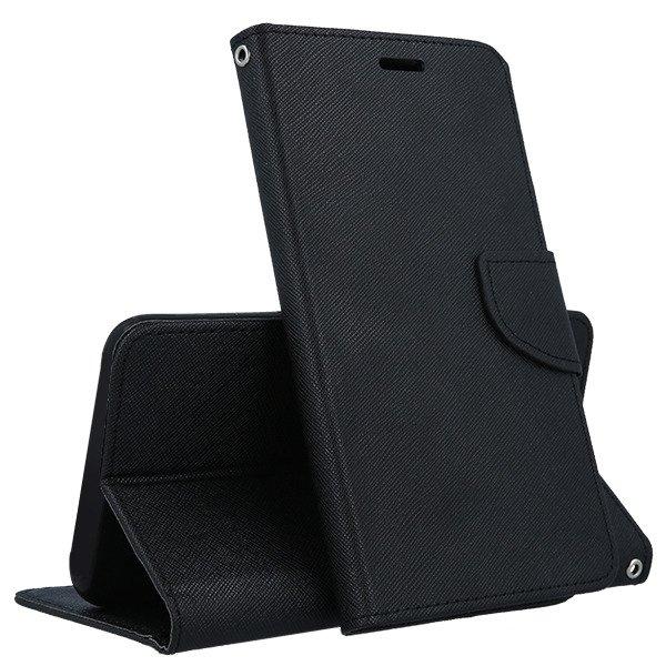 FORCELL FANCY Peňaženkový obal Huawei Y6 2018 černý