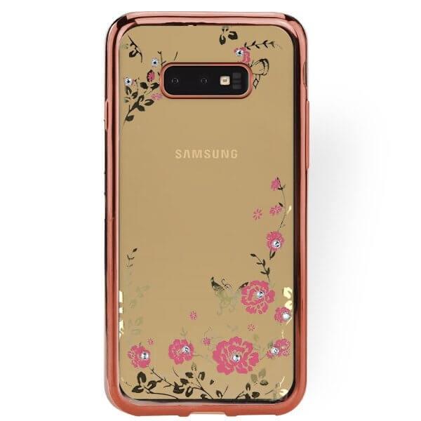 FORCELL BLOOM TPU obal Samsung Galaxy S10e růžový