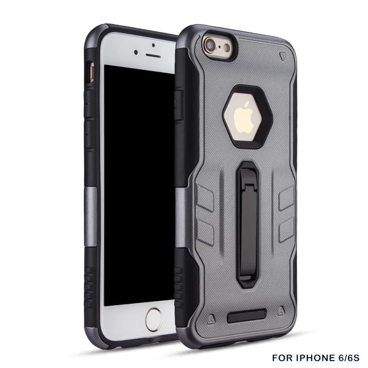 FORCELL DEFENDER Odolný obal Apple iPhone 6 / 6S šedý