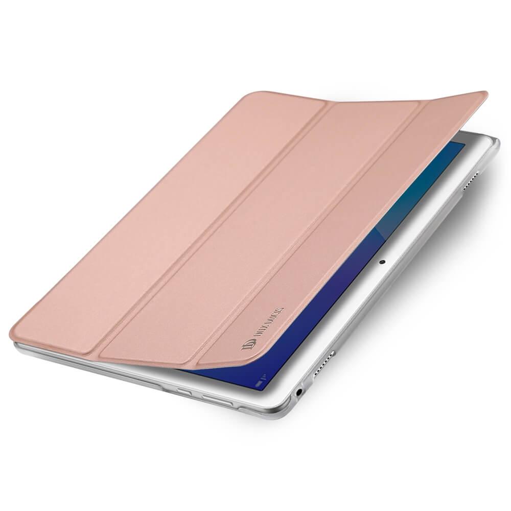 """DUX zaklapovací obal Huawei MediaPad M3 Lite 10 """"růžový"""