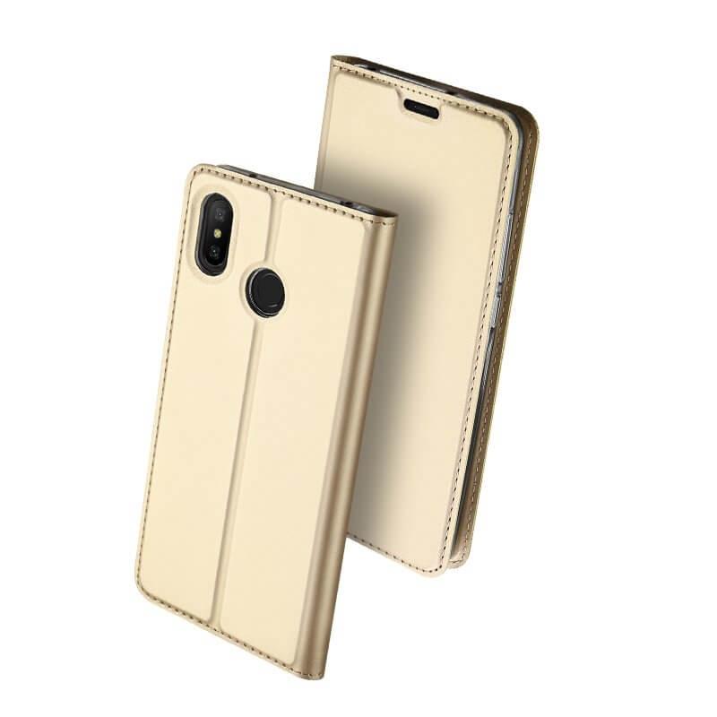 DUX Knížkové pouzdro Xiaomi Redmi Note 6 Pro zlaté
