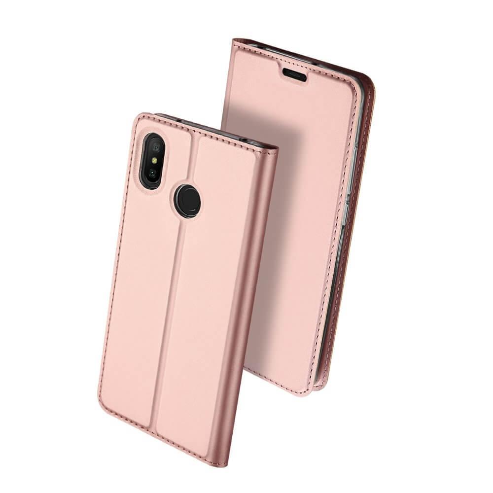 DUX Knížkové pouzdro Xiaomi Redmi Note 6 Pro růžové