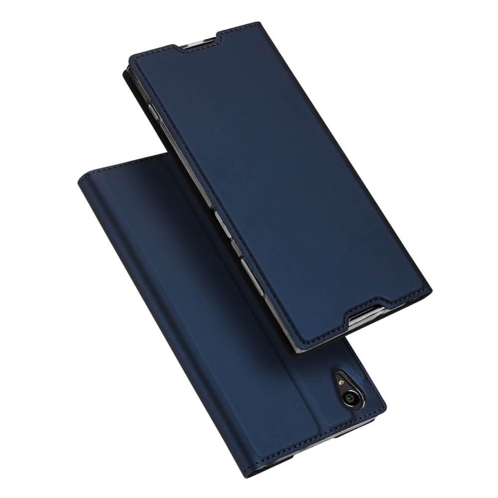 DUX Flipové púzdro Sony Xperia XA1 Plus modré