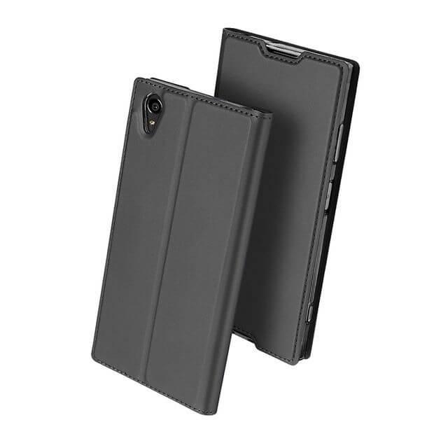 DUX Flipové púzdro Sony Xperia XA1 Plus šedé
