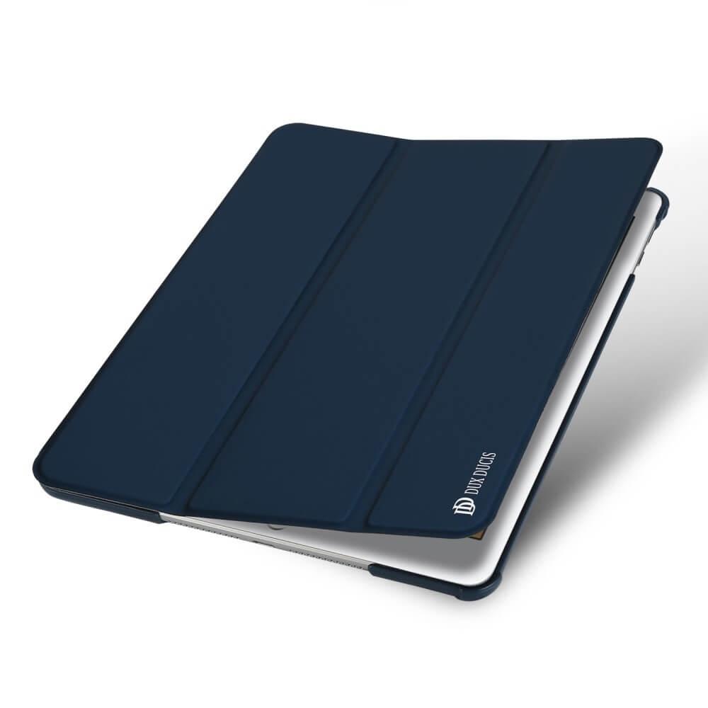 DUX Zaklapací obal s Apple iPad 9.7 (2018) s priečinkom na Apple pen modrý