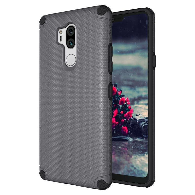 FORCELL LIGHT ARMOR obal LG G7 ThinQ šedý