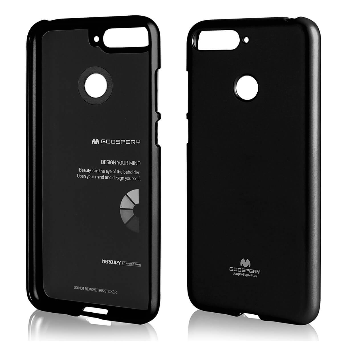 MERCURY JELLY TPU obal Huawei Y6 Prime 2018 černý