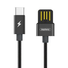 REMAX RC-080a Datový kabel (100 cm) USB Type-C černý
