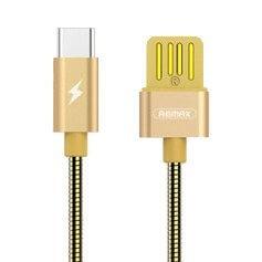 REMAX RC-080a Dátový kábel (100 cm) USB Type-C zlatý
