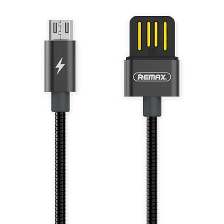 REMAX SERPENT RC-080m Dátový kábel Micro USB čierny